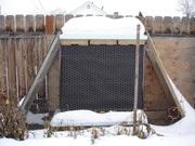 Three Warre Hives Wintering