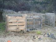 New compost bins for Queenstown harvest garden,