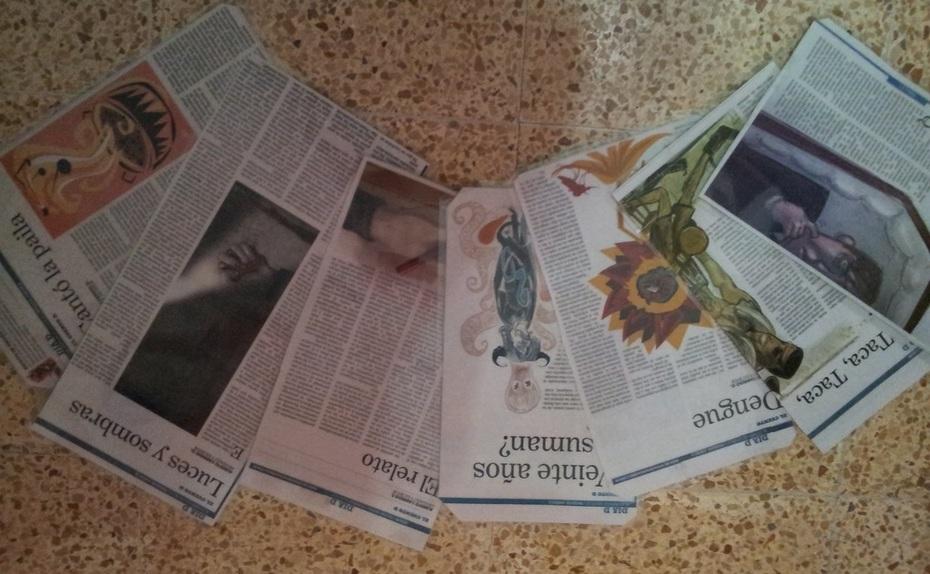 COMPILACION DE ALGUNOS CUENTOS PUBLICADOS EN LA PRENSA