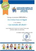 Diploma de Reconocimiento de la asociación AMEI-WAECE