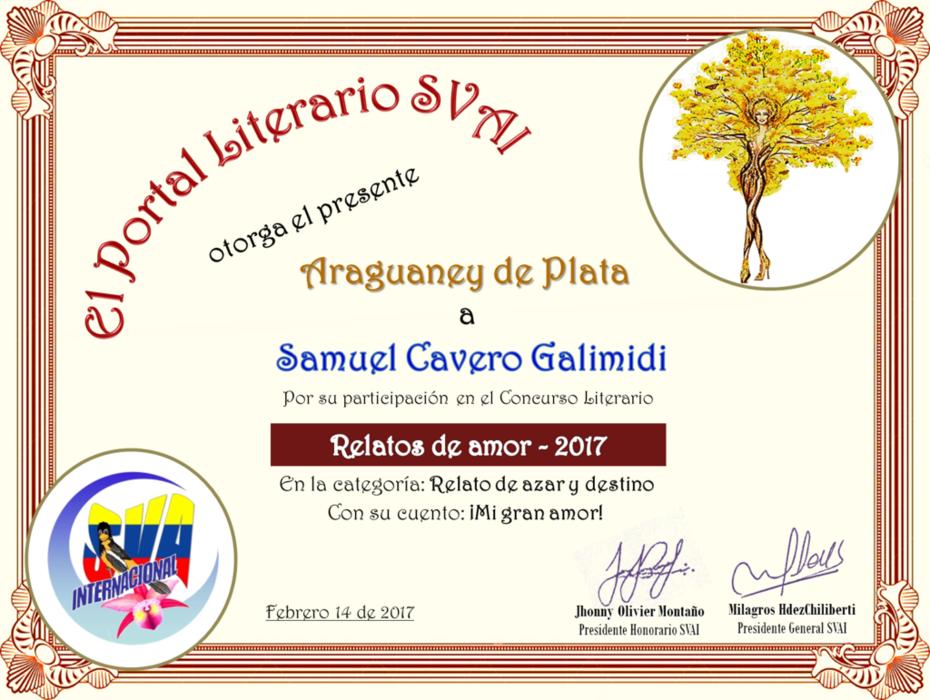 SAMUEL CAVERO GALIMIDI