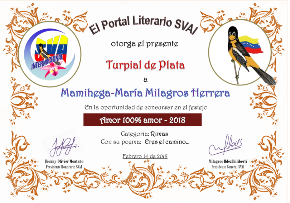 MAMIHEGA- MARÍA MILAGRO HERRERA