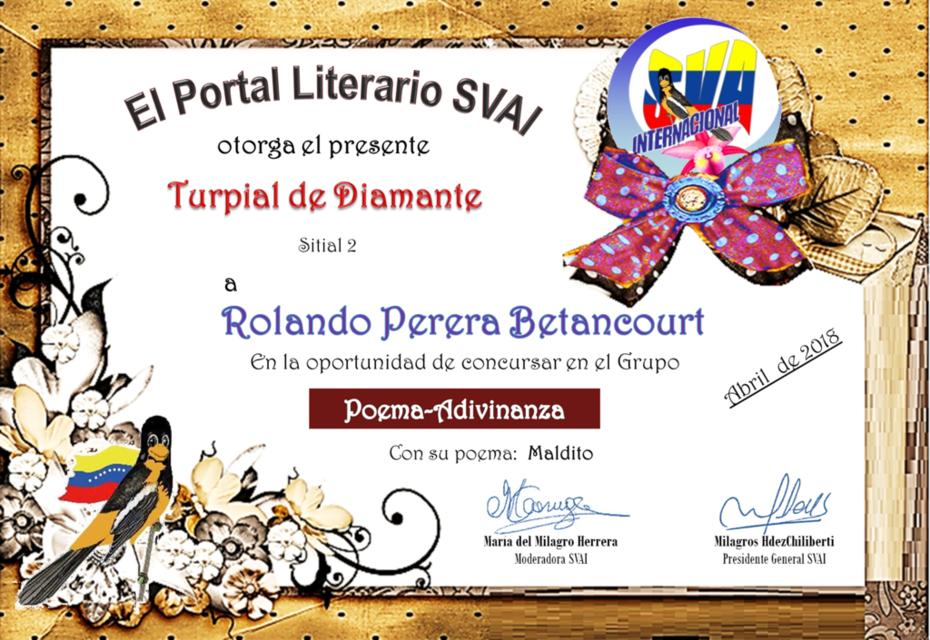 ROLANDO PERERA BETANCOURT