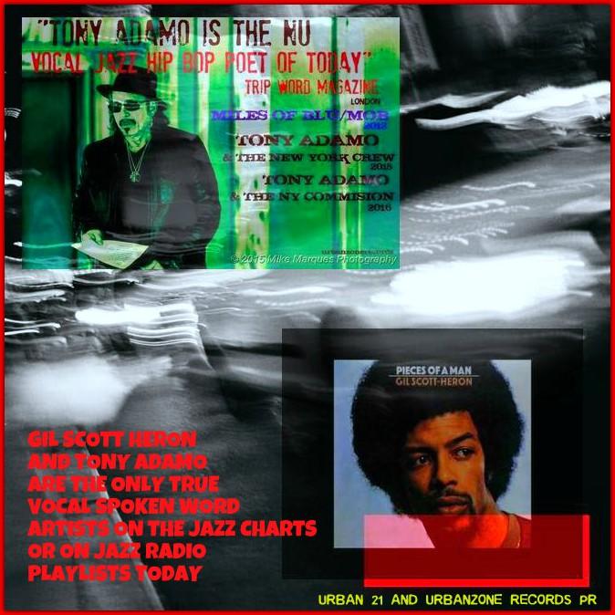 Tony Adamo Nu Jazz Vocal Trip Bop Spoken Word