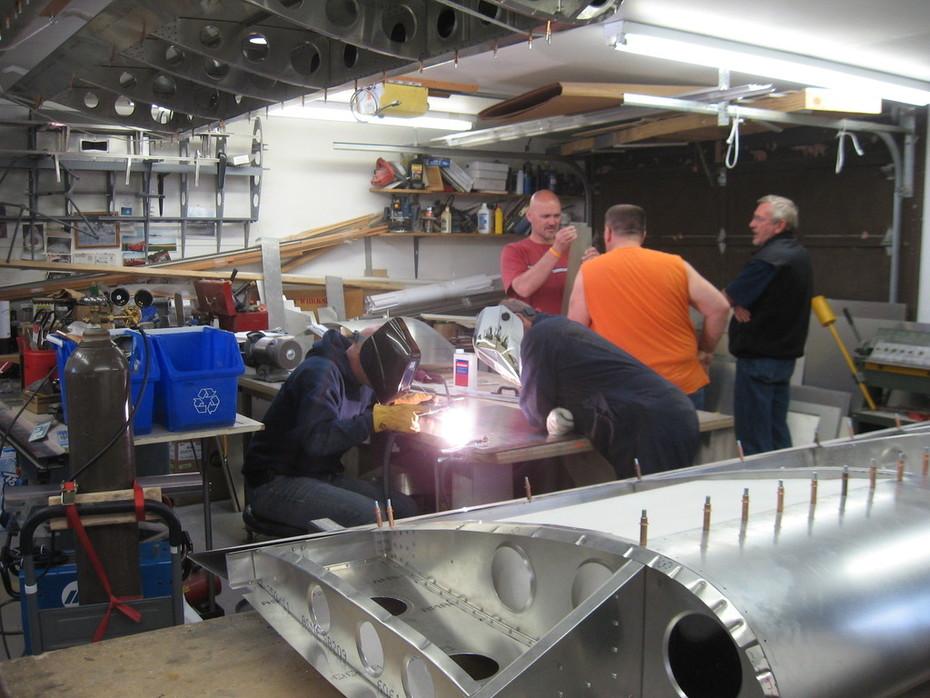 Starting Construction of Fuel Tanks