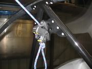 Secondary latch on 650 canopy