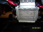 engine-new positech oil cooler frt view