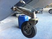 New nose wheel lateral view