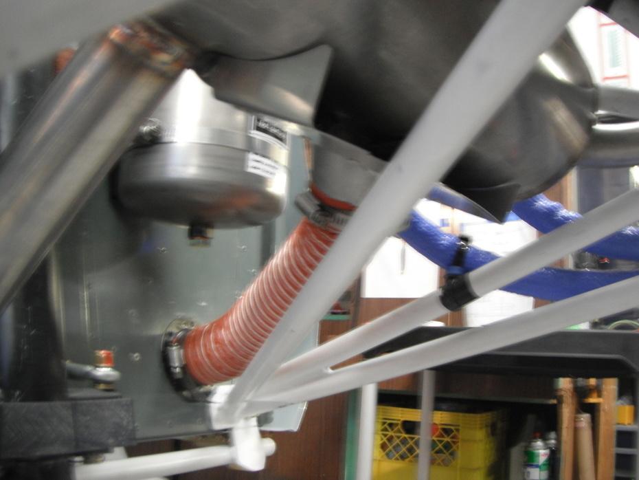 Modified Rotax Heat Muff