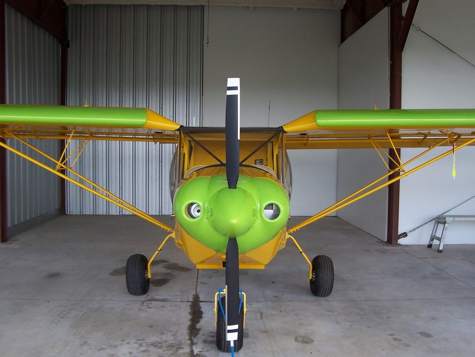 STOL CH 750 - ready for inspection
