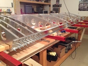 Right Wing Skeleton - In progress - 8/10/2012