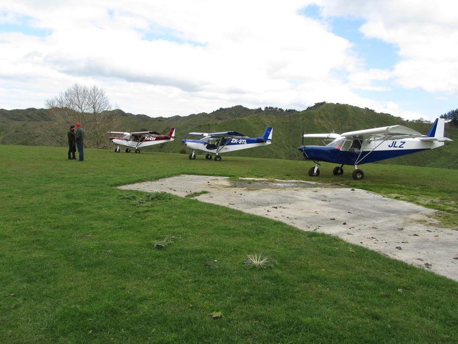 Mangamingi airstrip Taranaki New Zealand