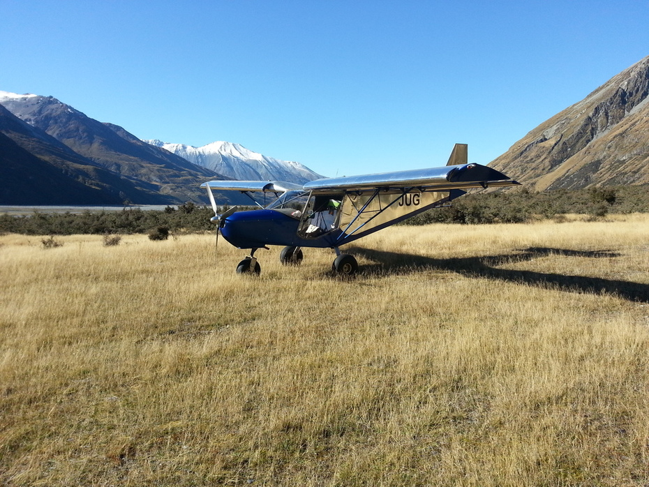 Zenith STOL flying in New Zealand