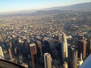 Downtown smoggy old L.A.