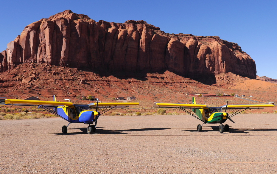 701ZE and 751ZE in Monument Valley