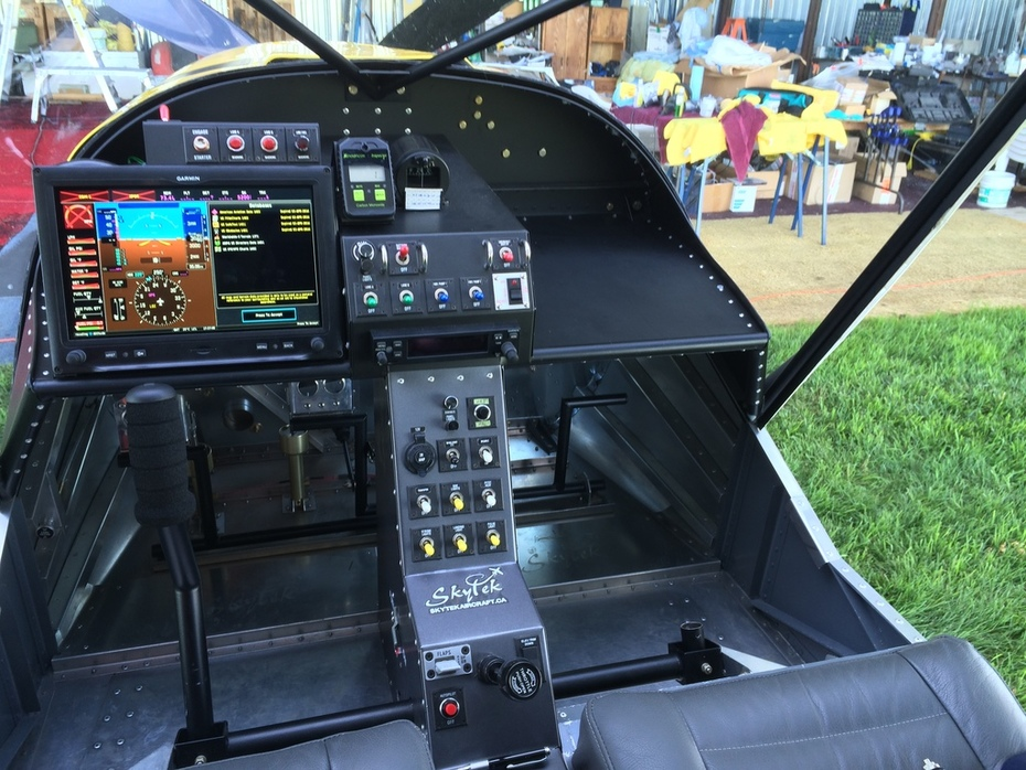STOL CH 750 Instrument Panel