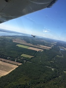 CH701 Formation flying with Ultralight