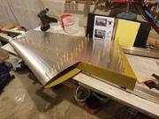 STOL CH 750 rudder assembly
