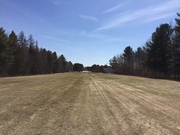 Landing strip - No more snow. Let's fly !