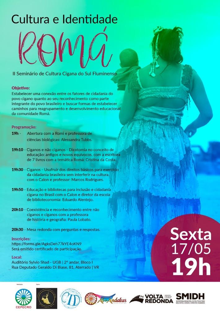 II Seminário de Cultura e Identidade Romá do Sul Fluminense