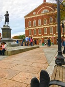 Faneuil Hall Footshot