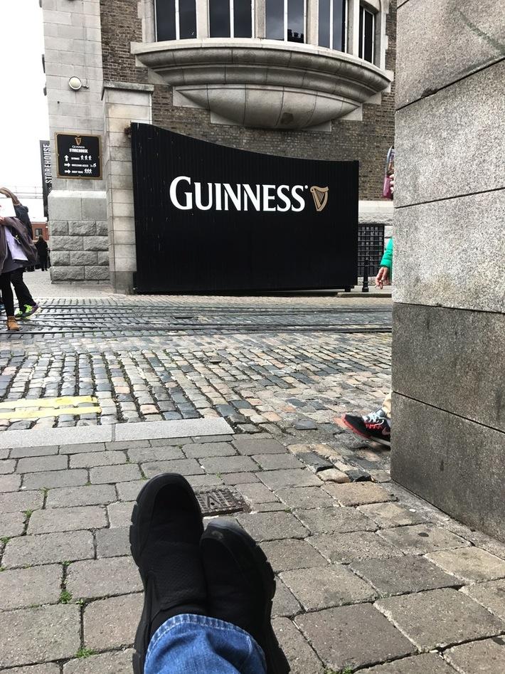 Guinness Footshot