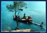 Λεσβος κολπος Γερας ψαραδες