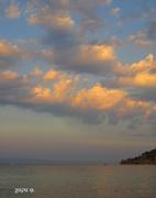 Ηλιοβασιλεμα στις Αλυκες.