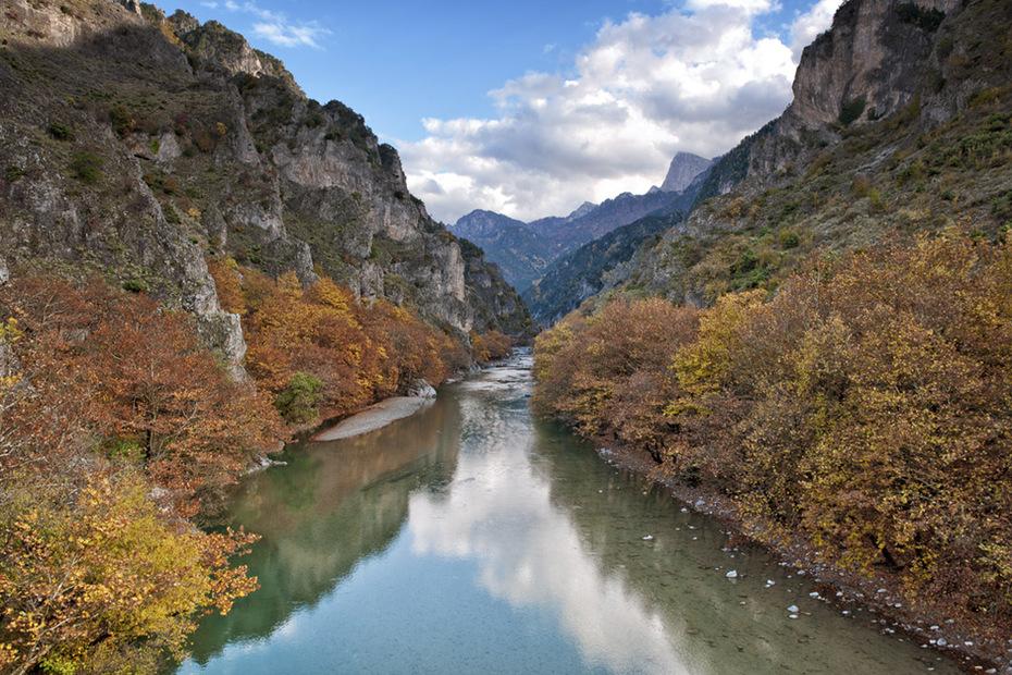 Ποταμός Αώος.
