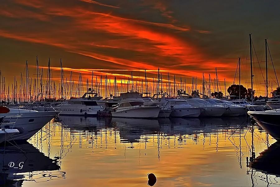 Άλιμος - ηλιοβασίλεμα!
