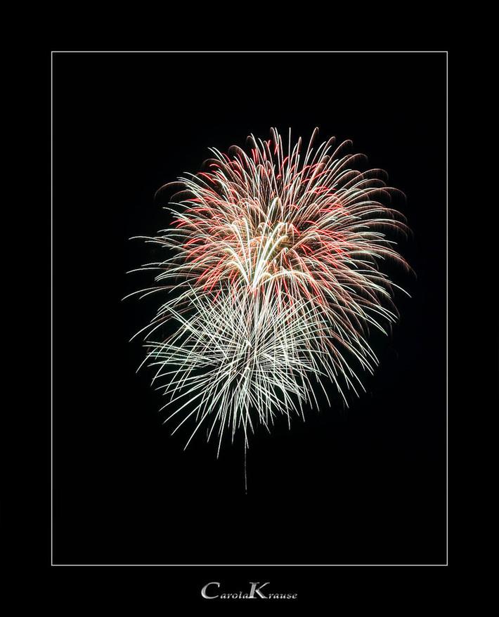Campus Festival Fireworks
