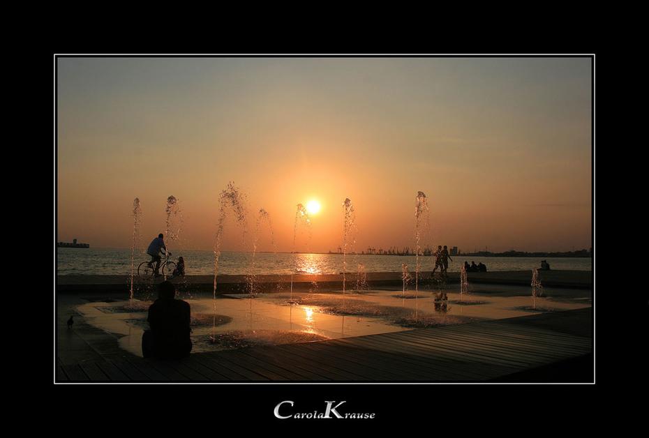 Thessaloniki Sunset