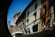 Street mirror effect