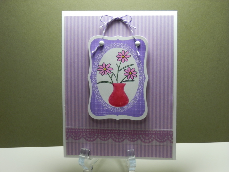 Hanging Flower Picture