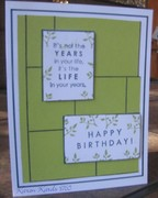 Panels for a Birthday
