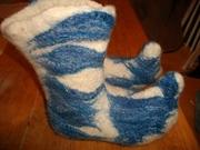blue elf boots