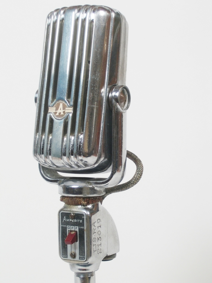 Amperite RBHK microphone