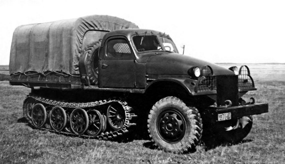 Soviet experimental HTT ZIS-153