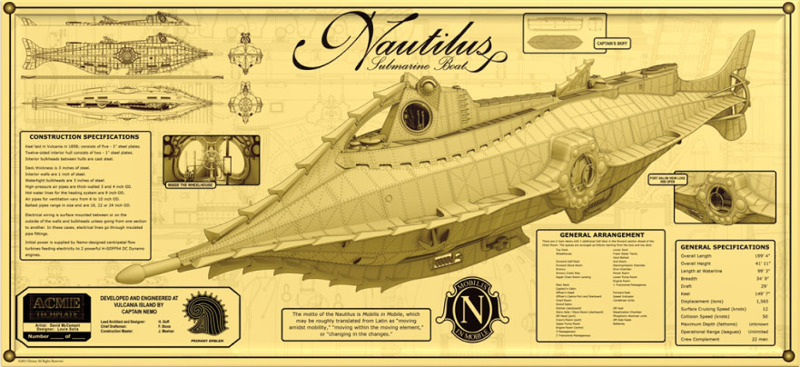 Nautilus by ACME Archives