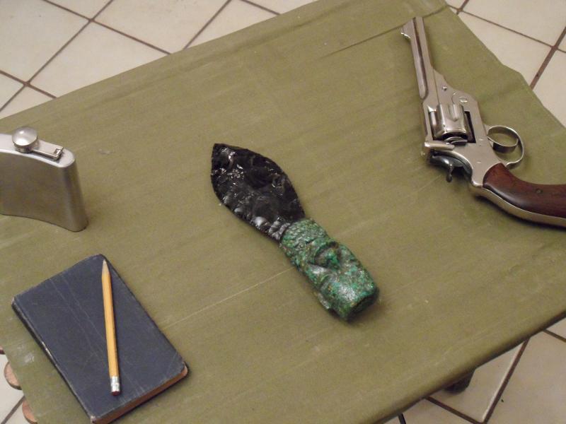The Aztec Dagger
