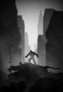 Superhero Noir Series by Marko Manev