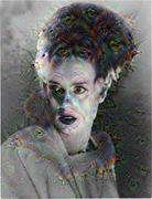 Deep Dream - Bride of Frankenstein