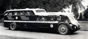 Split-level bus