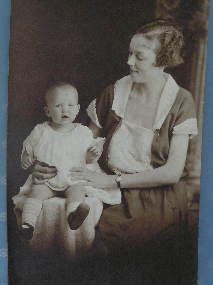 Sarah Allen & infant