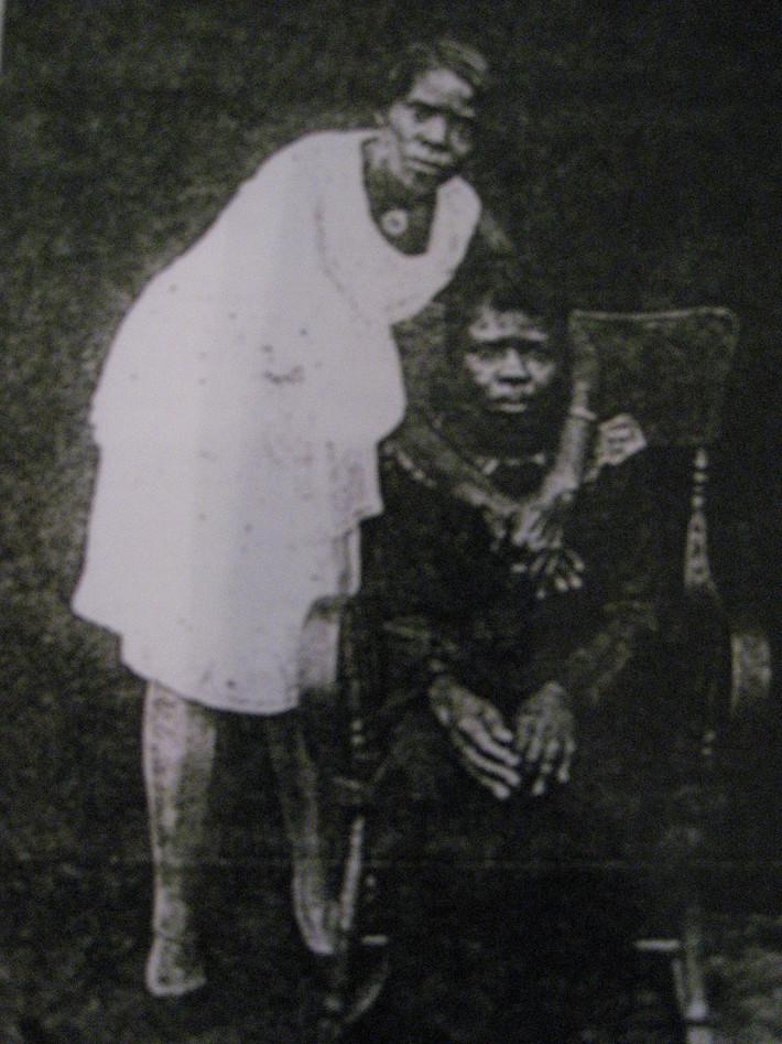 Octavia Williams and Winnie (Harriss) Williams