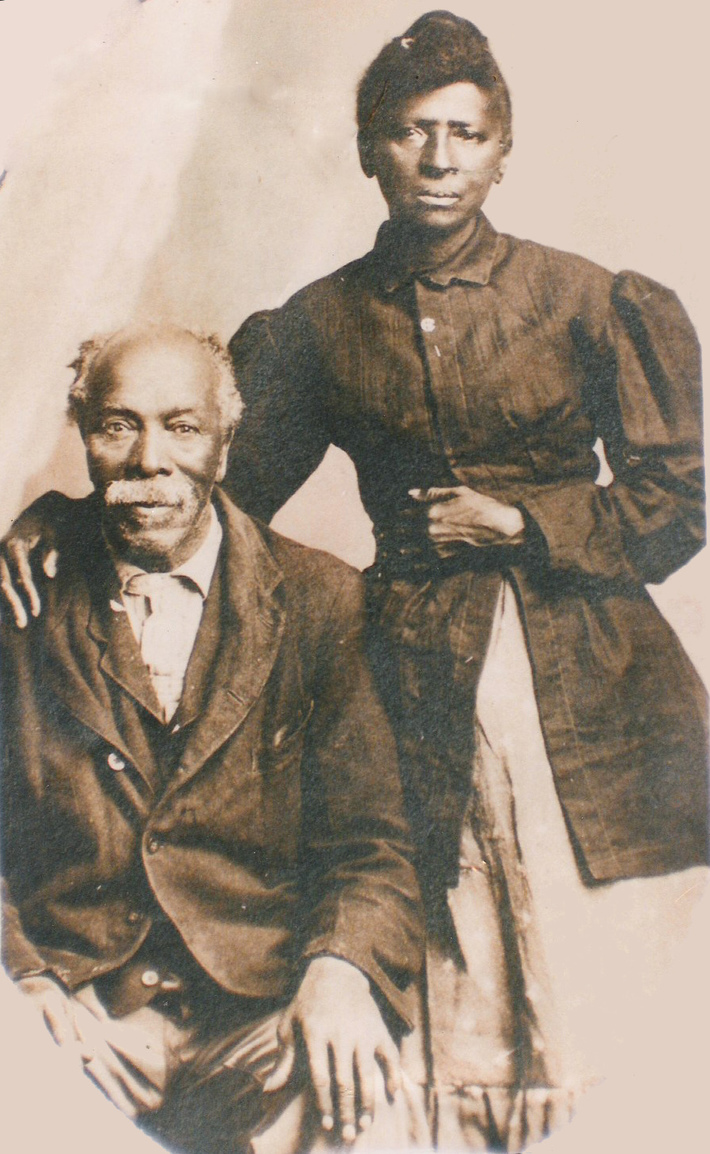 Isaac and Adelaide Haynes
