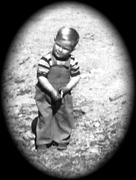 Larry W. Miller abt 3 years old