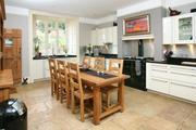 Peamore House modern kitchen