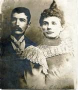 Frances Ellen Charles 1878 1963 Wedding Photo
