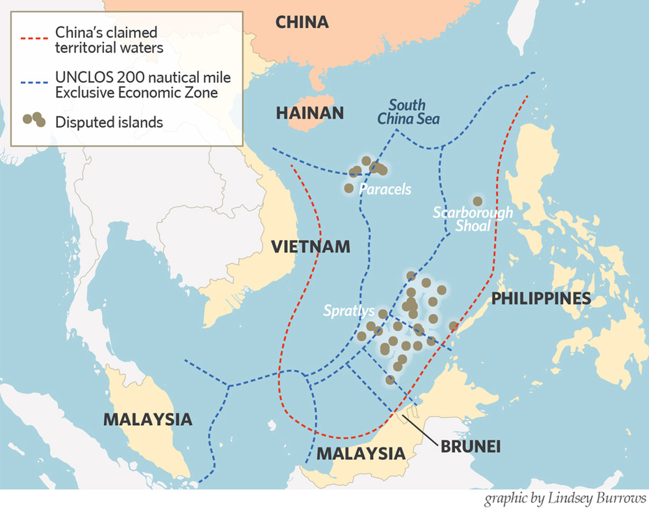 South China Sea 南中國海